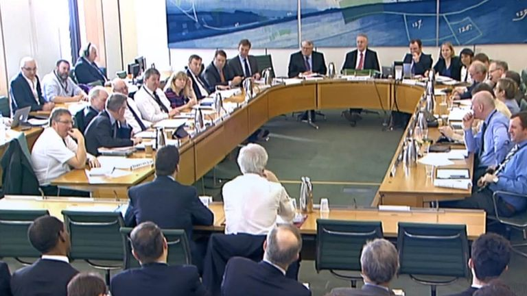 The Exiting The EU Committee questions the Brexit Secretary