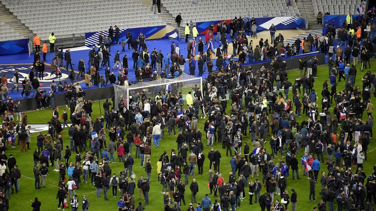 Attack on the Stade de France on 13 November 2015