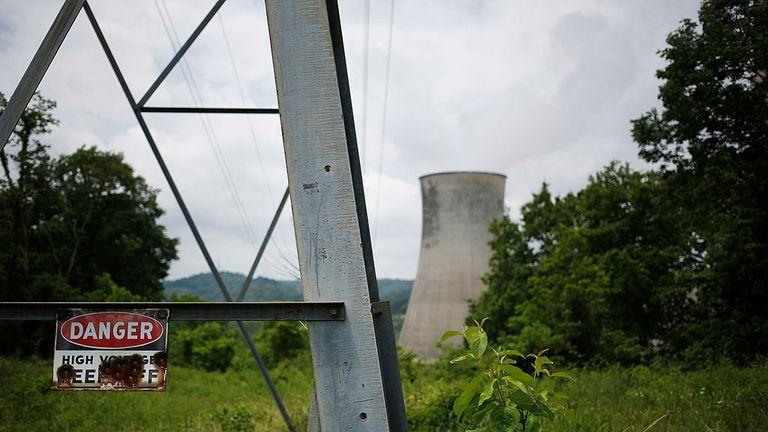 A coal-fired power plant in Cattletsburg, Kentucky
