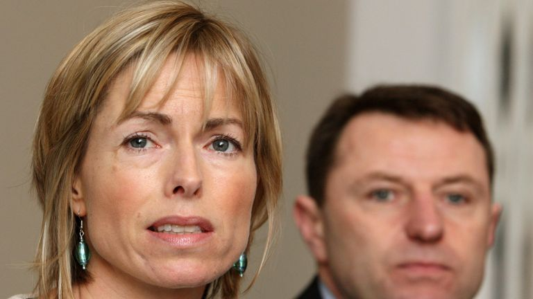 Kate and Gerry McCann in 2010