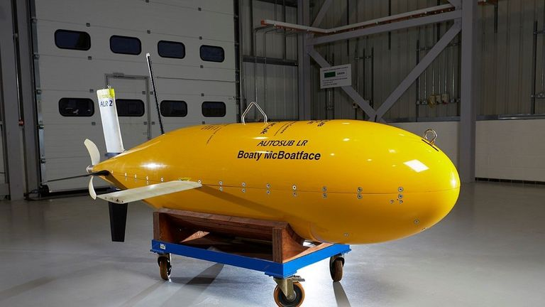 The sub was christened Boaty McBoatface after a public vote