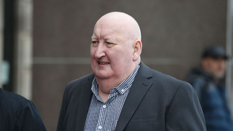 Harry Clarke, the driver of the Glasgow bin lorry that crashed