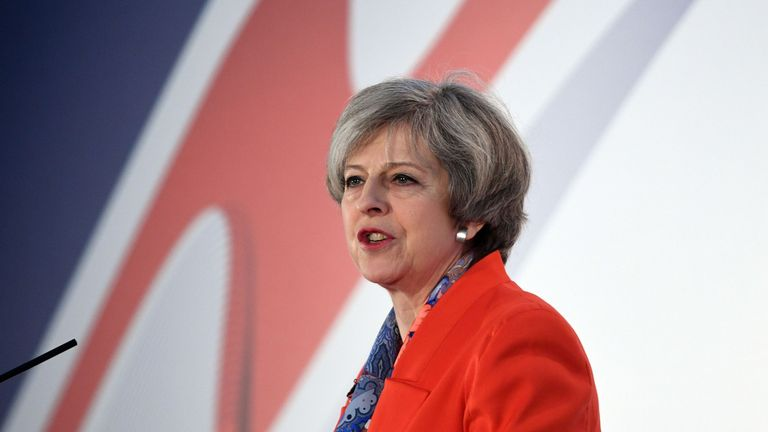 Theresa May has vowed to work hard to give Britain the best possible deal