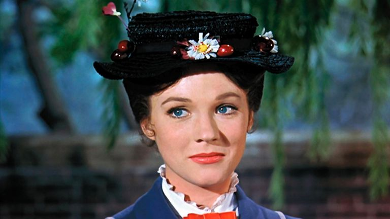 Julie Andrews starred in the original Mary Poppins film