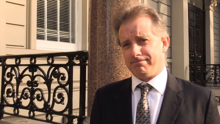 Christopher Steele is out of hiding and back at work
