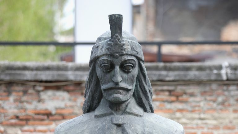 Vlad the Impaler briefly ruled Transylvania in the 15th century