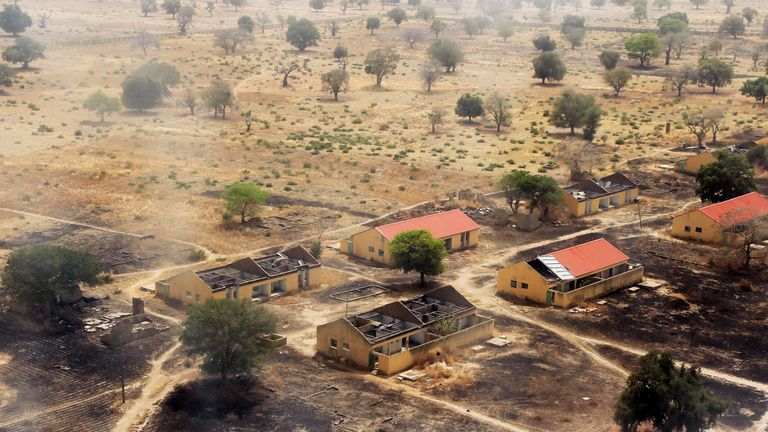 Boko Haram fighters abducted 276 girls from a school in Chibok in April 2014