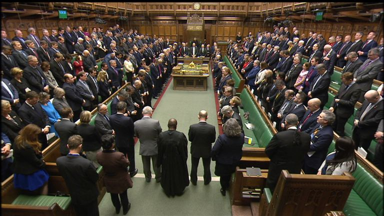 One minute's silence for London victims