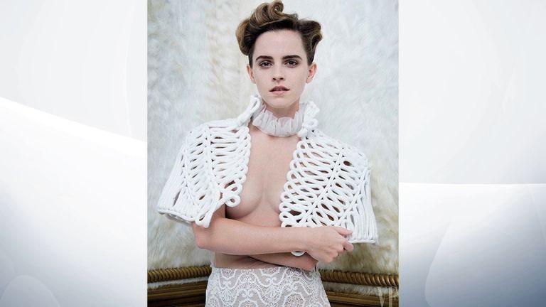 Emma Watson. Pic: Vanity Fair