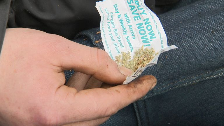Spice, a chemically made synthetic marijuana