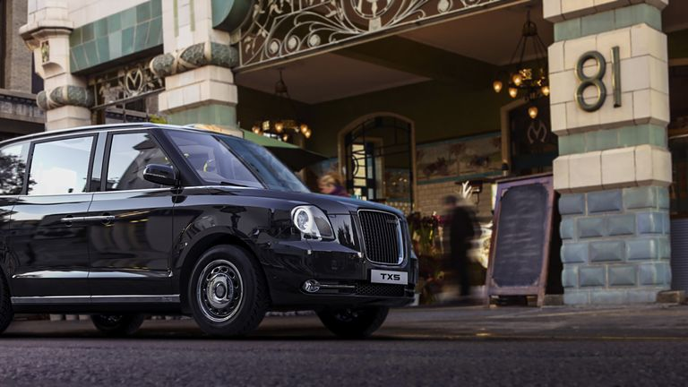 The new electric taxi goes on sale in London in the autumn