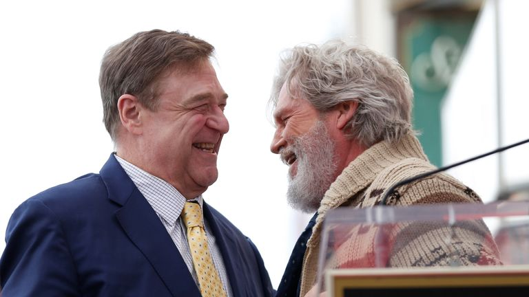 John Goodman and Jeff Bridges