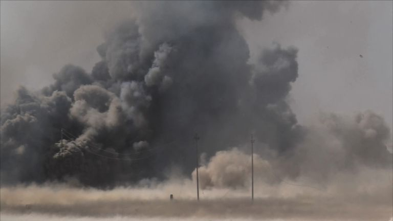 Iraqi forces have been clearing IS out of Mosul - its last urban stronghold in the country