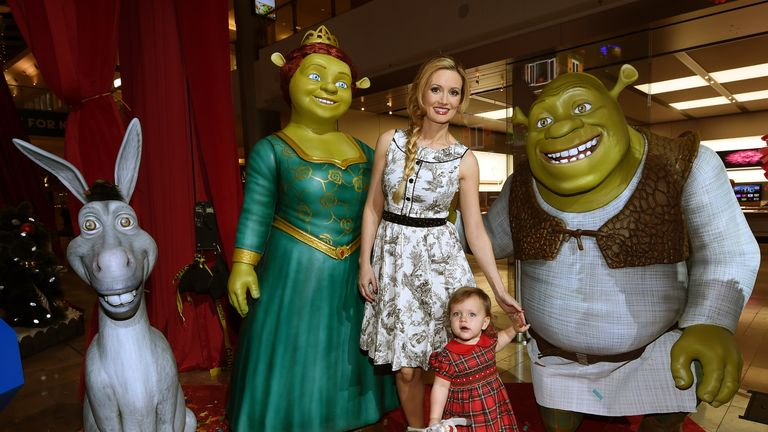 Shrek The Musical has visited many cities, this is from Las Vegas