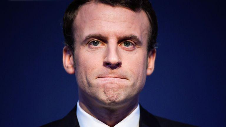 Emmanuel Macron has seen his polling numbers increase by 6% in two weeks