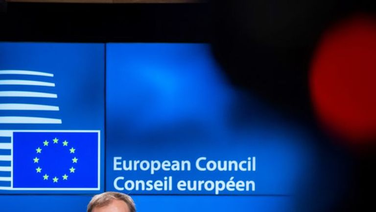 Donald Tusk will issue draft guidelines on the EU's Brexit response