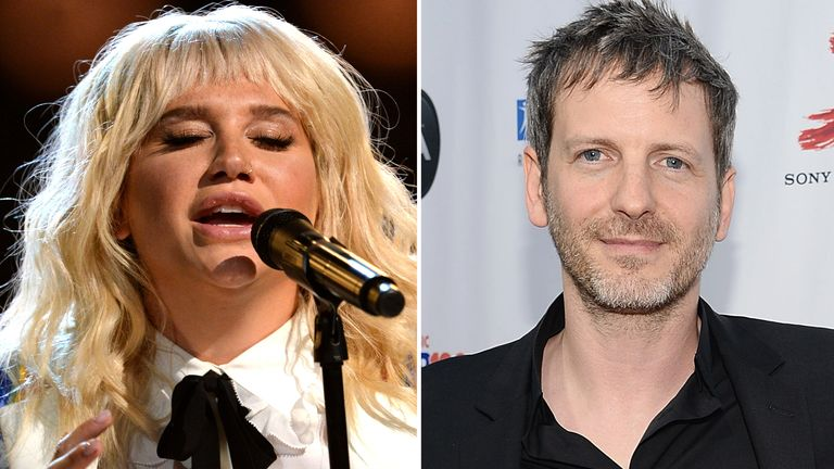 Kesha and Dr Luke