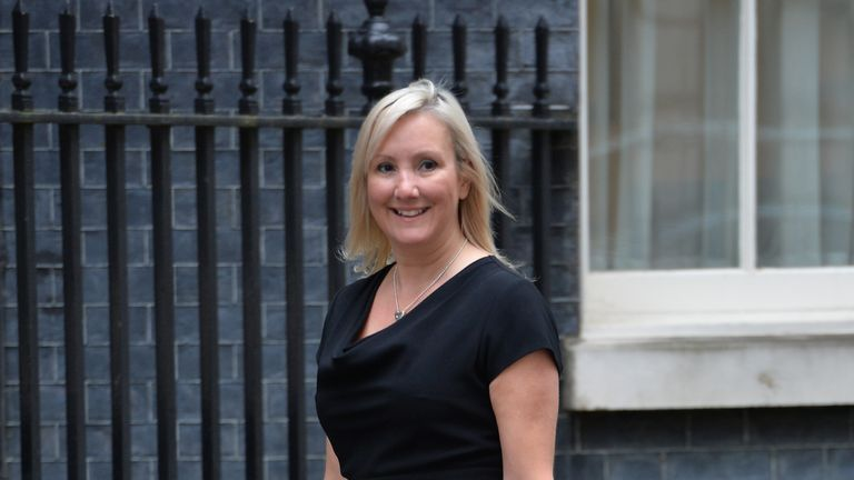 Ms Dinenage hit out at 'dodgy' workplace rules