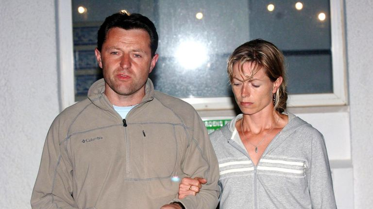 Gerry and Kate McCann make a statement the day after Madeleine's disappearance