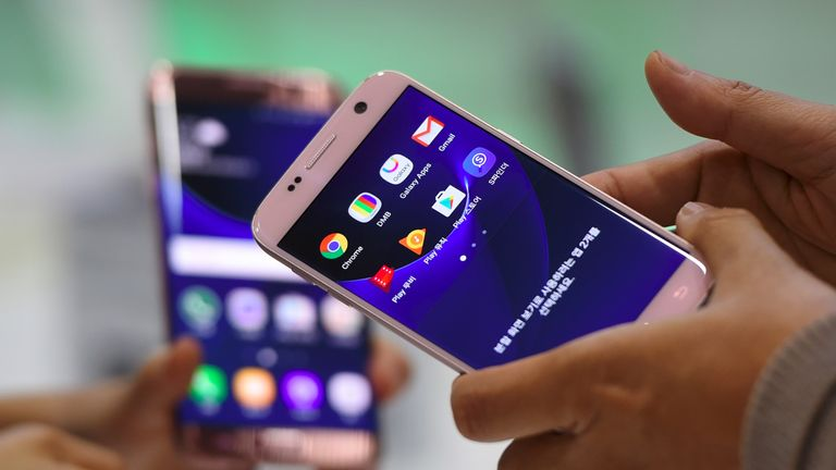 The Samsung Galaxy S7 was unveiled in February 2016