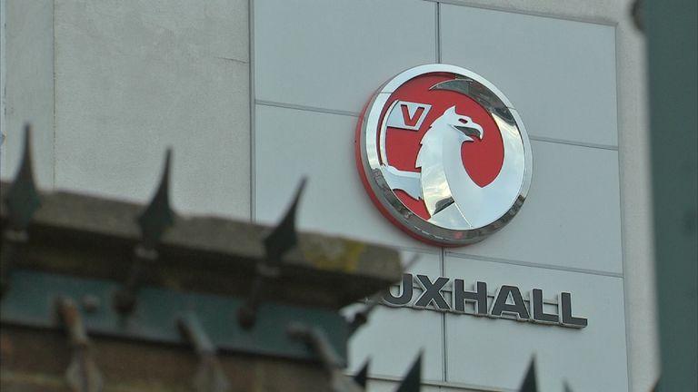 Vauxhall Luton plant