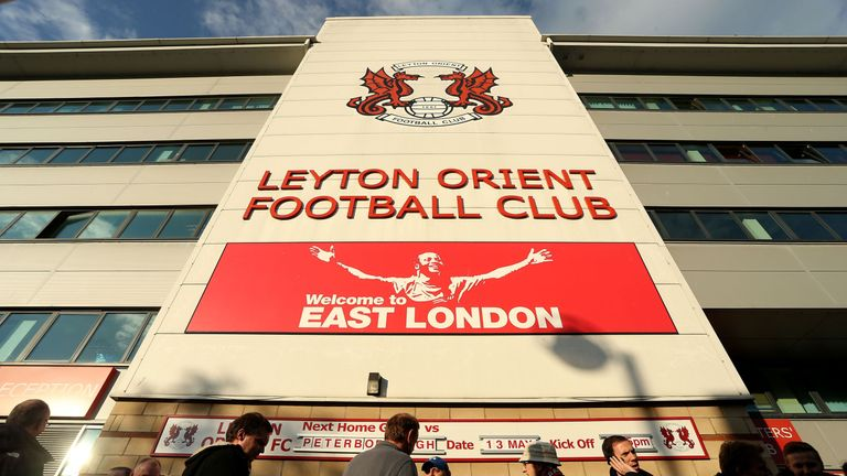 The Matchroom Stadium, Leyton Orient's home ground