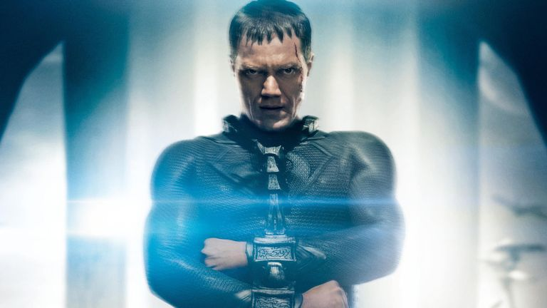 Shannon starred as General Zorg in Zack Snyder's Man Of Steel