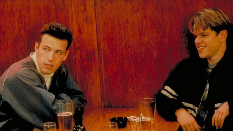 Affleck and Damon won an Oscar for best original screenplay for Good Will Hunting