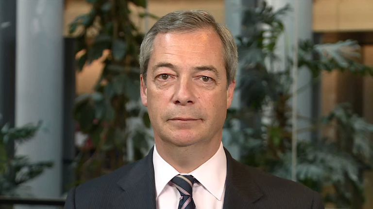 Nigel Farage believes the SNP would lose a second independence refendum