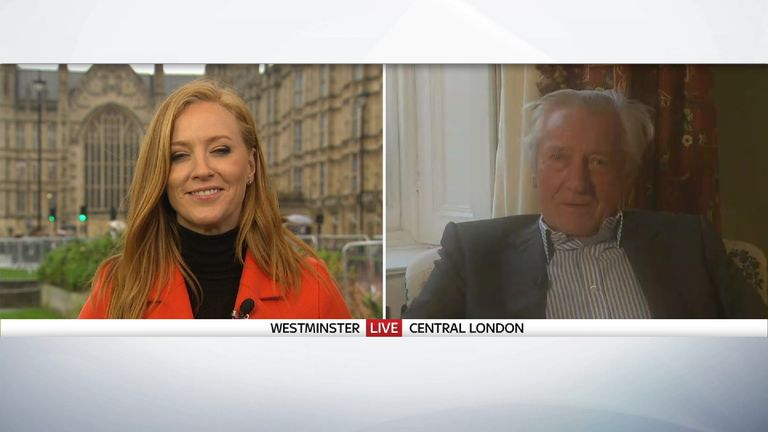 Sarah-Jane Mee points out Lord Heseltine's sexist slip of the tongue