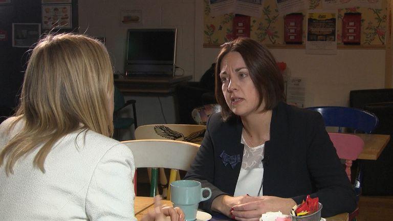 Scottish Labour Leader Kezia Dugdale MSP