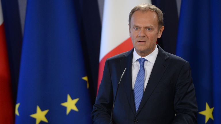 Donald Tusk, President of the European Council