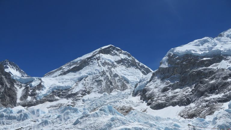 Sherpas currently have to haul recovered rubbish through the dangerous Khumbu icefall