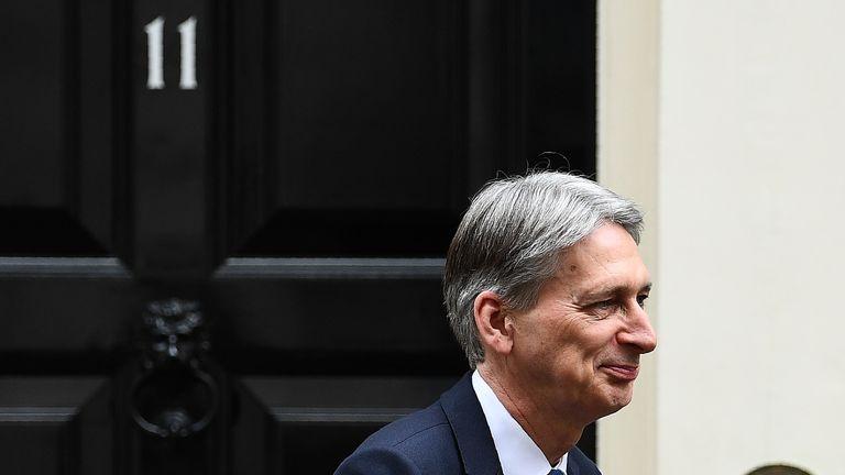 Mr Hammond says the Midlands has 'huge economic potential'