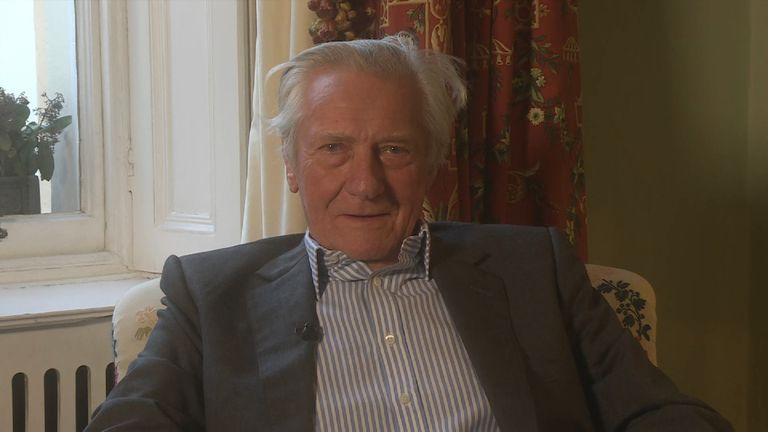 Lord Heseltine says he has never met Theresa May