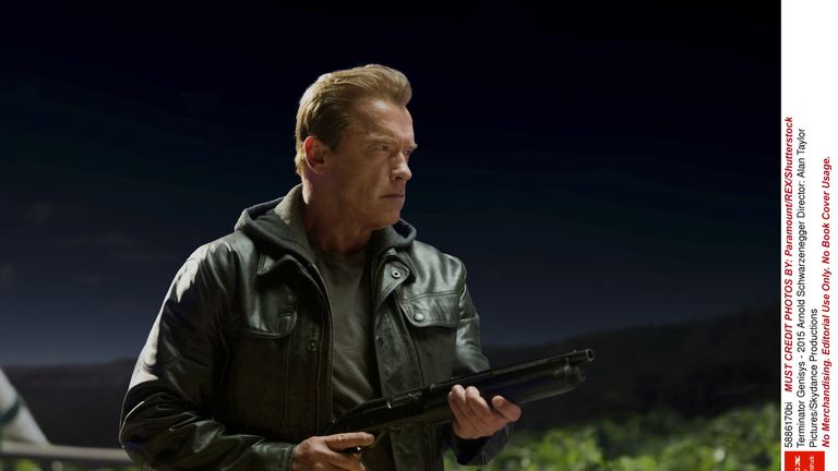 Schwarzenegger first played the Terminator (T-800) in the 1984 James Cameron movie