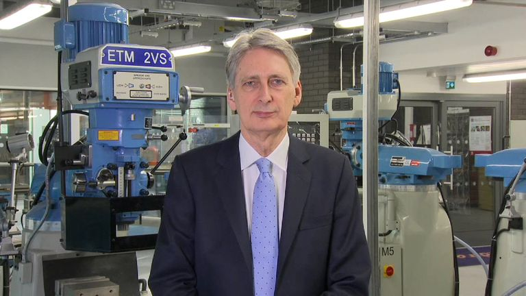 The Chancellor defended the NI increase for the self-employed