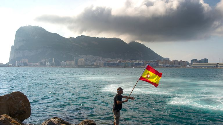 EU gives Spain power over Gibraltar's future