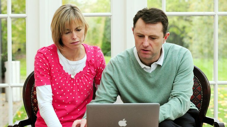Kate and Gerry McCann launch a petition calling for a joint review into their daughter's case