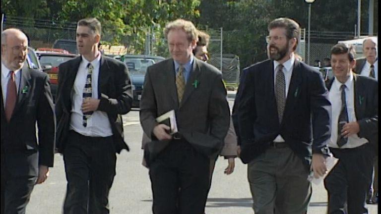 Sinn Fein's Martin McGuinness: Man of violence or man of peace?