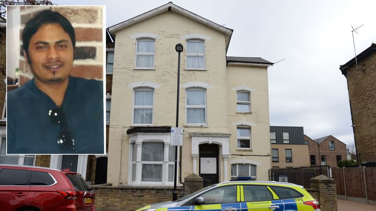 Police are searching for Bidhya Sagar Das, 33, of the address in Wilberforce Road where the injured children were found on Saturday night.