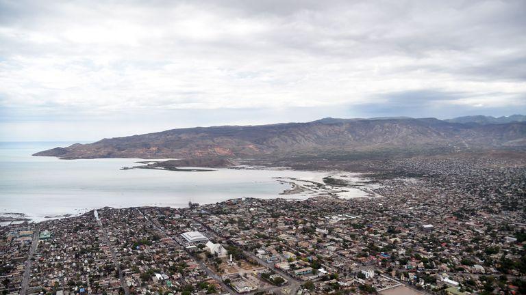 Gonaives, the capital of Artibonite Department in northern Haiti, 150 kilometers from Port-au-Prince