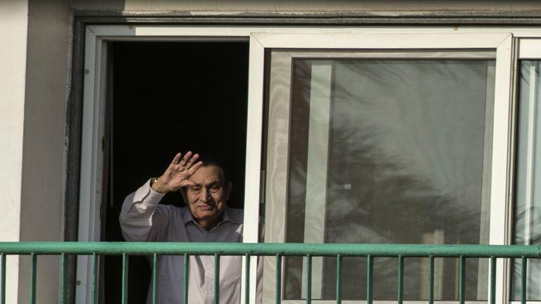 Hosni Mubarak had been held at the Maadi military hospital in Cairo