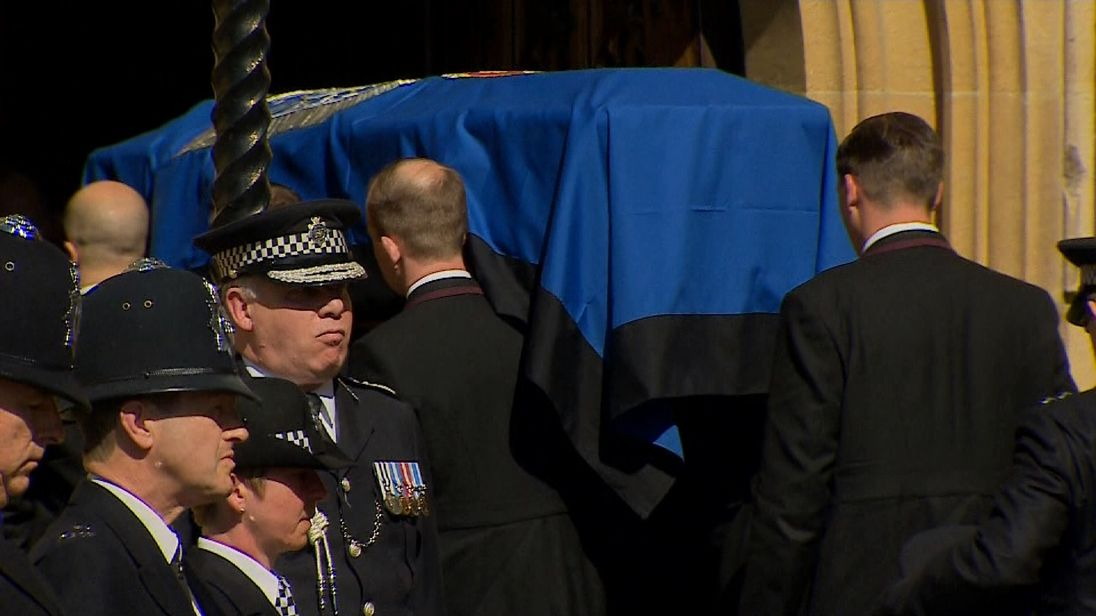 PC Keith Palmer laid to rest at Westminster