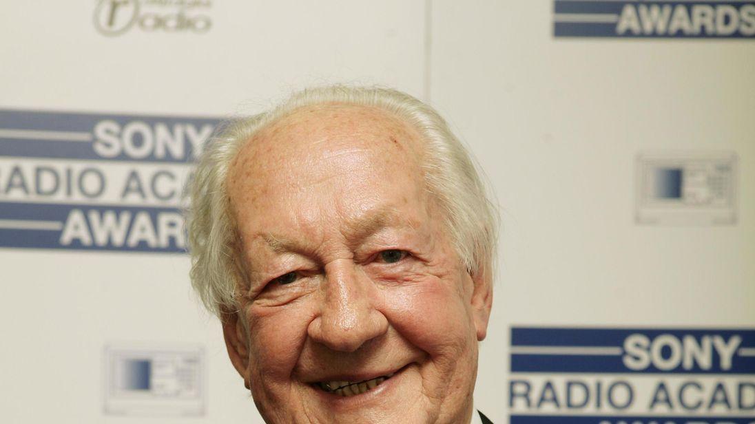 Former BBC broadcaster Brian Matthew