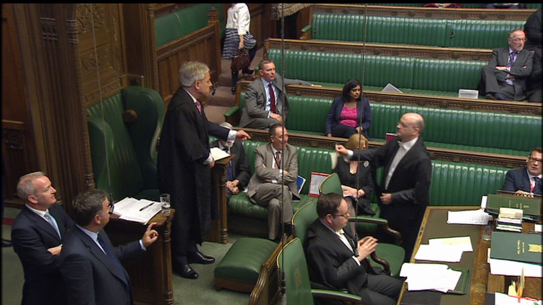 The result of the MPs vote on a June 2017 General Election is announced in the House of Commons
