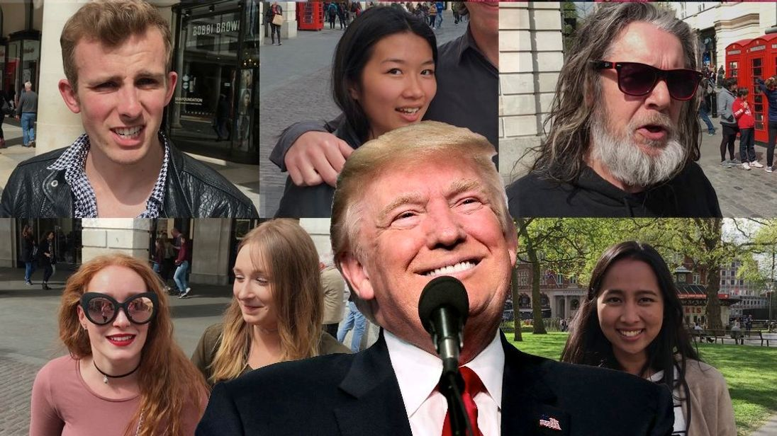 We asked 100 people how they felt about President Trump's first 100 days