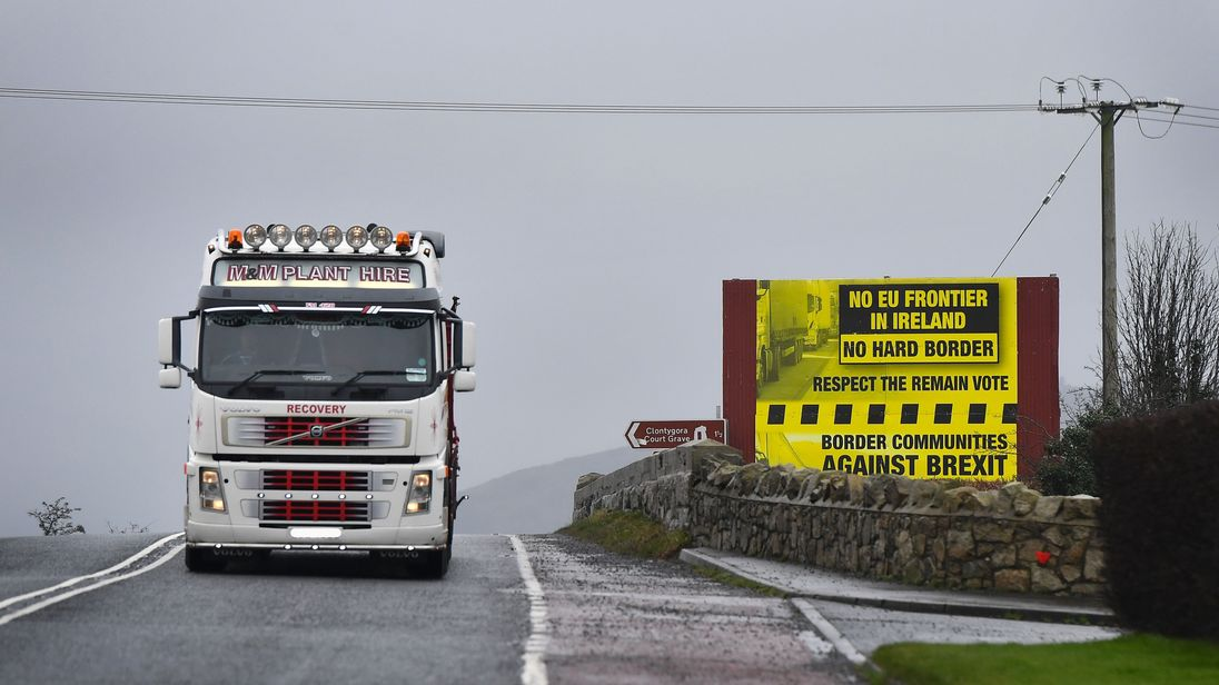 Those on the Irish border with Northern Ireland are concerned about the effects of Brexit