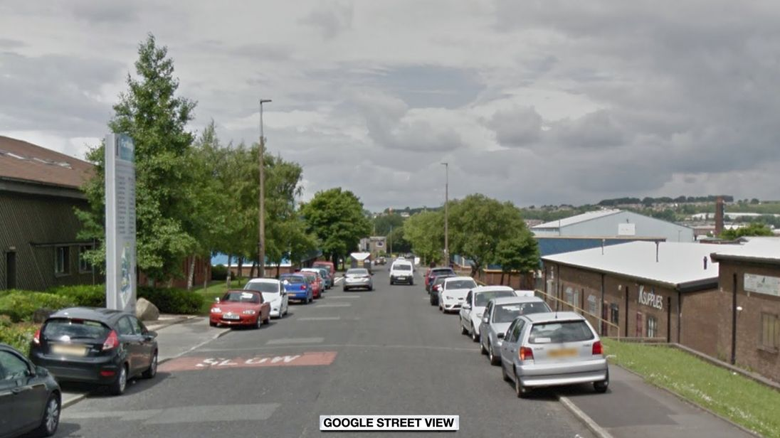 Two girls were seriously injured in the hit-and-run in Harwood Street, Blackburn