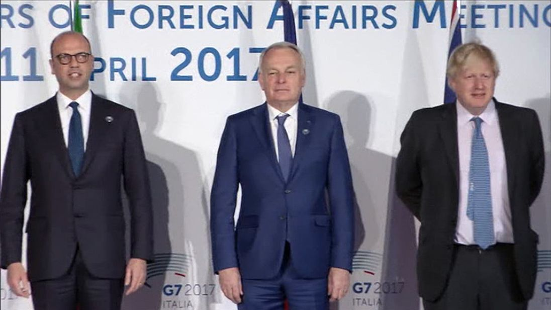 G7 leaders meet in Italy